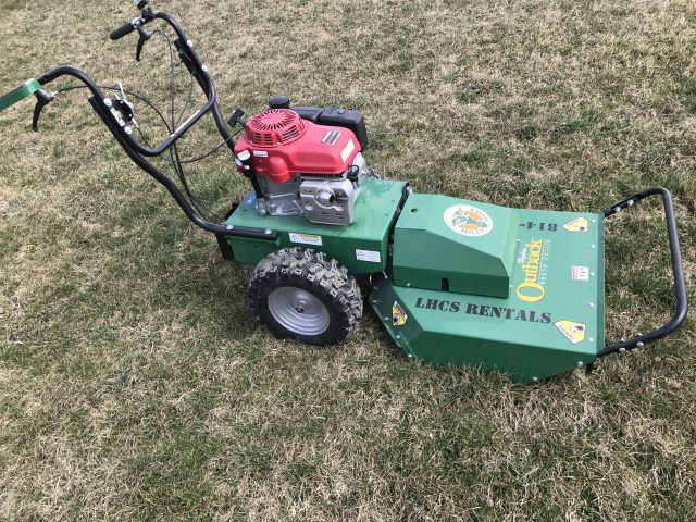"BILLYGOAT OUTBACK 26"" WALK BEHIND BRUSH CUTTER"