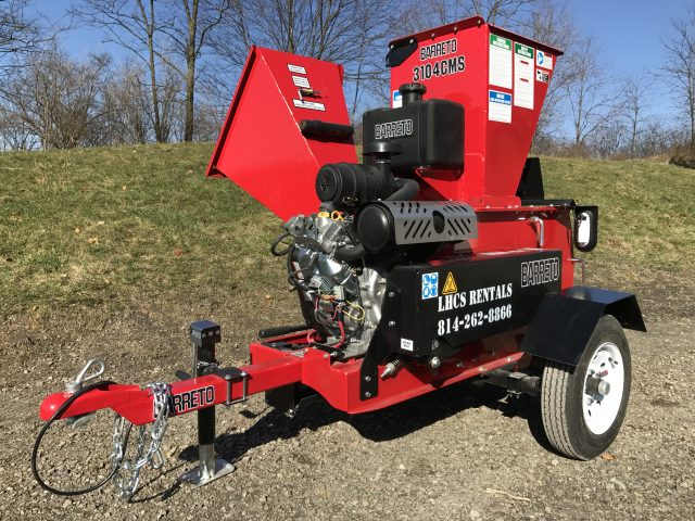 Barreto Wood Chipper / Mulcher