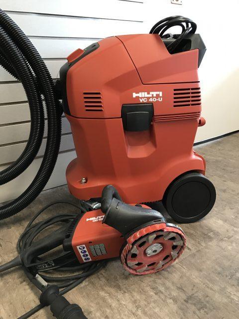 Hilti DG 150 Floor Grinder W/ Vac