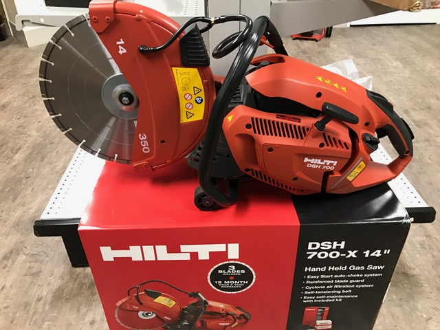 Hilti DSH 700-X Gas Concrete Saw