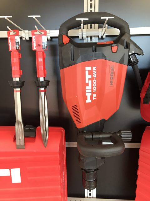 Hilti TE 1000 AVR Electric Demo Hammer