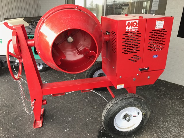 6 Cubic FT Cement Mixer