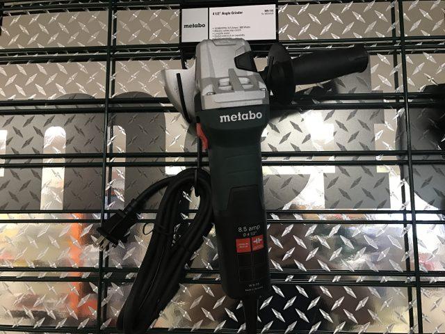 4-1/2″ Metabo Grinder 8.5 AMP
