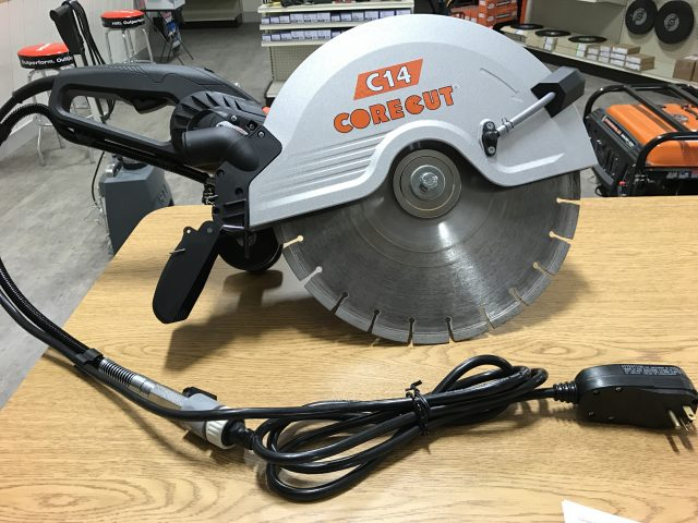 14″ Electric Wet Concrete Saw