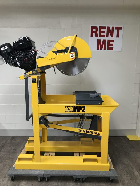 20″ Masonry Block Saw