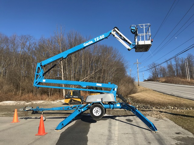 Genie TZ-50 Towable Boom Lift